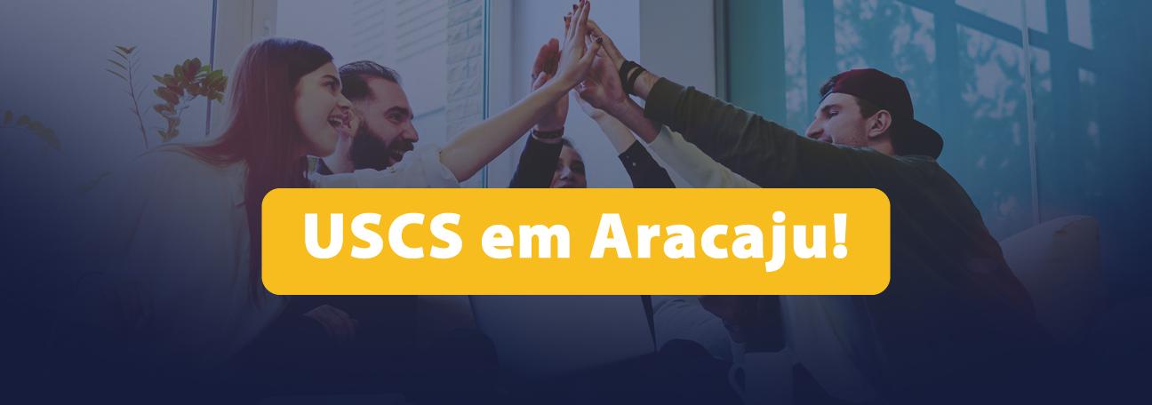Cursos de Pós-Graduação da USCS agora em Aracaju!