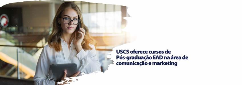 USCS oferece cursos de Pós-graduação EAD na área de comunicação e marketing
