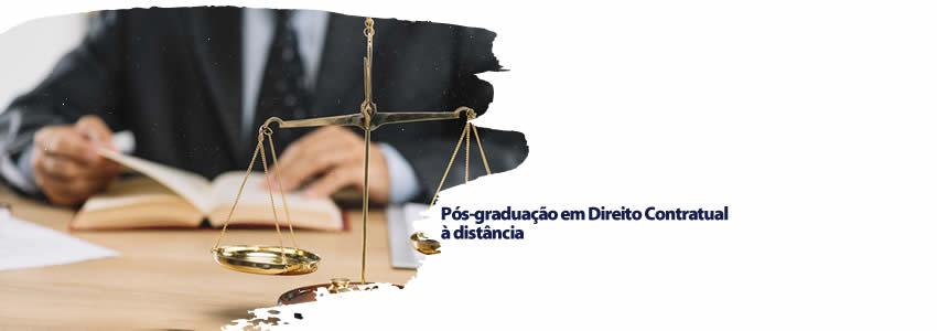Pós-graduação em Direito Contratual à distância