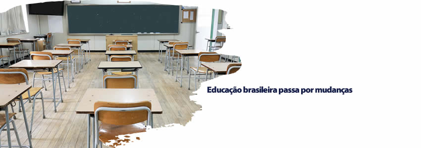 Educação brasileira passa por mudanças