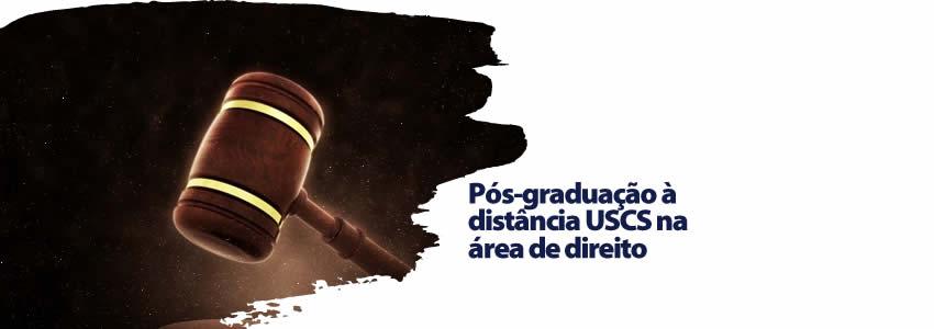 Pós-graduação à distância USCS na área de direito
