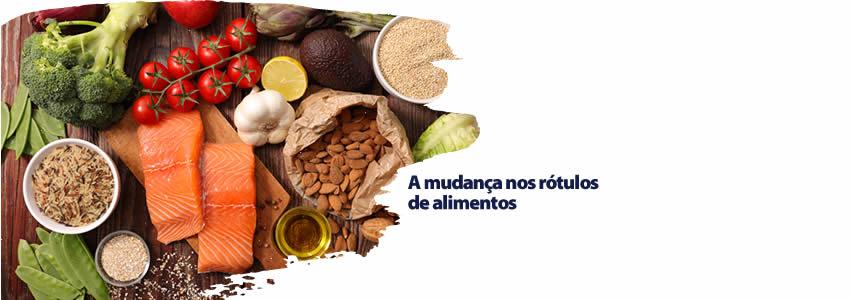 A mudança nos rótulos de alimentos