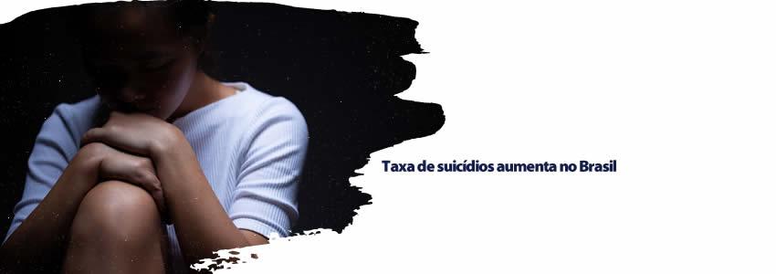 Taxa de suicídios aumenta no Brasil