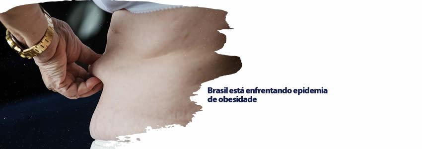Brasil está enfrentando epidemia de obesidade