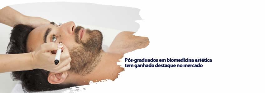 Pós-graduados em biomedicina estética tem ganhado destaque no mercado