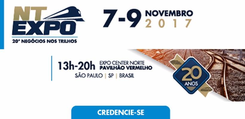 NT Expo - 20ª Negócios nos Trilhos