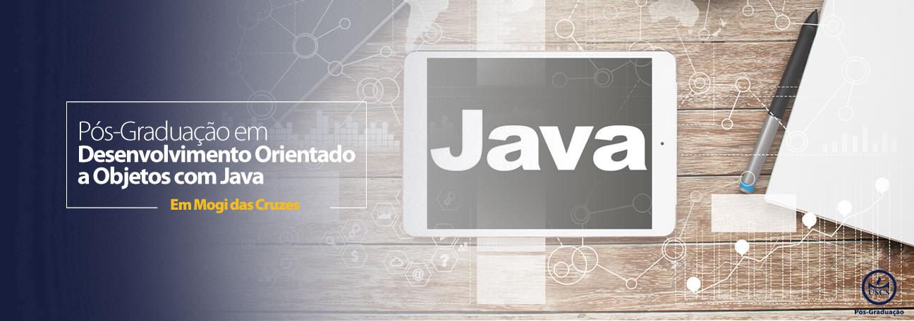 Pós-Graduação em Desenvolvimento Orientado a Objetos com Java em Mogi das Cruzes