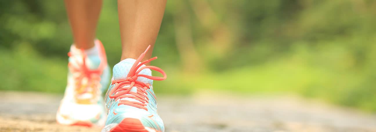 A caminhada pode trazer muitos benefícios para a sua saúde