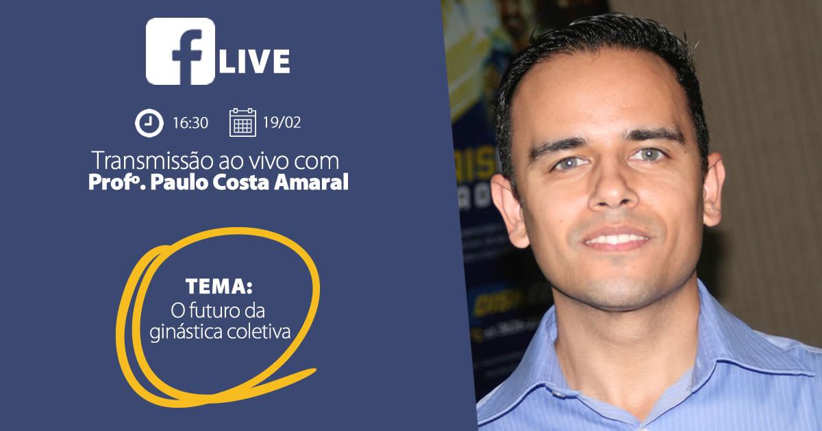 "Live ""O futuro da ginástica coletiva"""