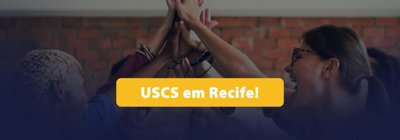 Os cursos de Pós-Graduação da USCS acabam de chegar a Recife