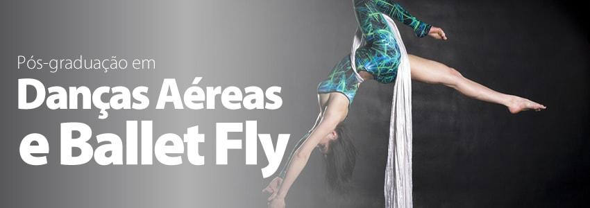 Universidade de São Caetano do Sul lança curso de pós-graduação em danças aéreas e Ballet Fly