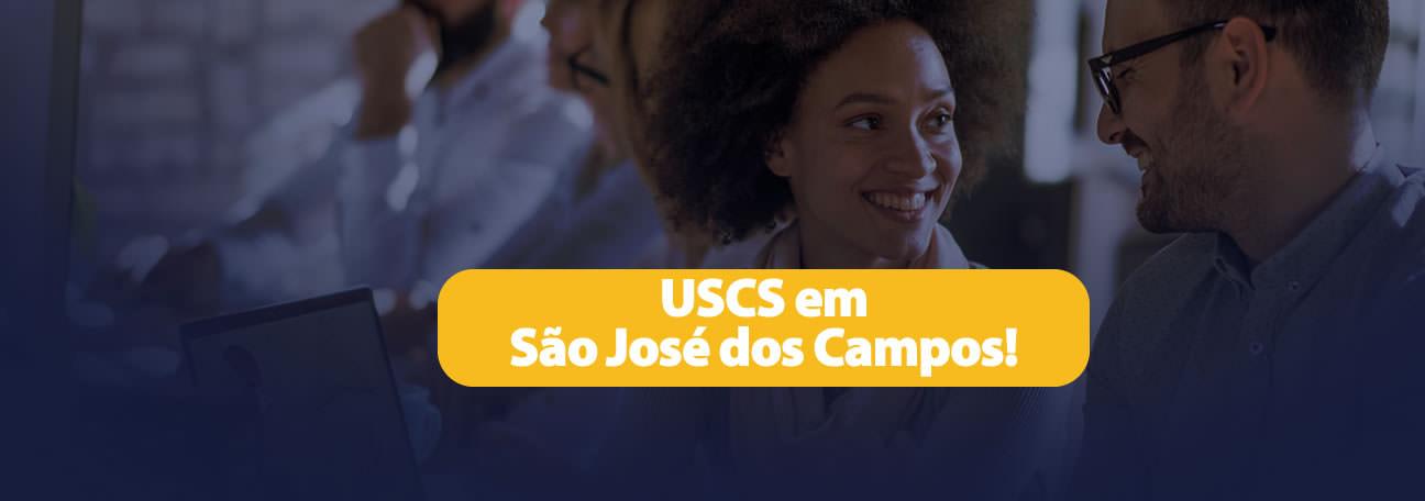 USCS agora em São José dos Campos!
