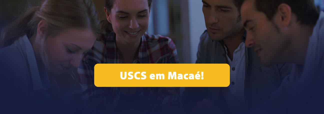 USCS agora em Macaé!